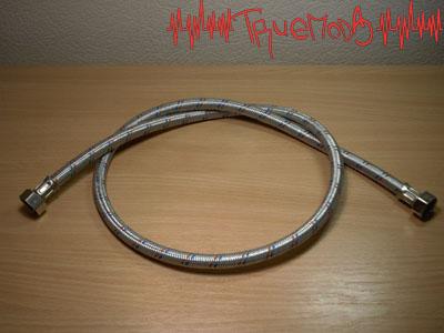 Общий вид металлического шланга, используемый в качестве оплетки